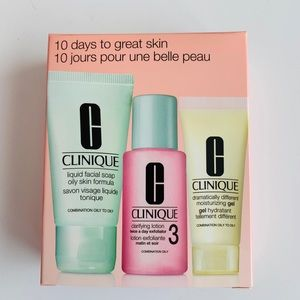 Clinique Skincare Mini 3pc Set